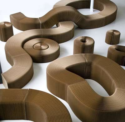 molo design, slinky furniture