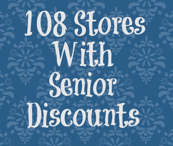 62 best senior discounts birthday freebies images on pinterest stores with senior discounts savingmorethanme fandeluxe Image collections