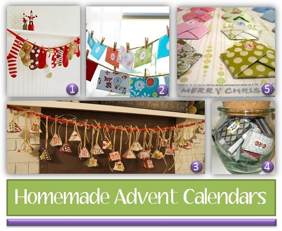 Homemade Calendars With Photos : Best homemade advent calendars ideas on pinterest