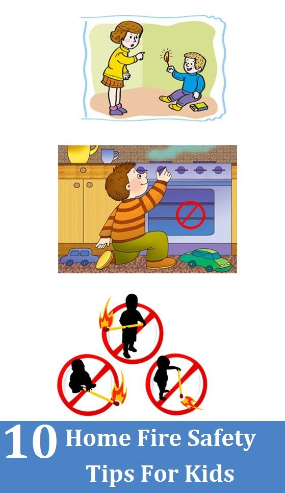 Top 10 home fire safety tips for kids fire safety kid for Fire prevention tips for home