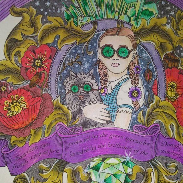 Escape To Oz Coloringbook Coloringforadultsadultcoloringbookcreativecoloringbeautifulcoloringarttherapy