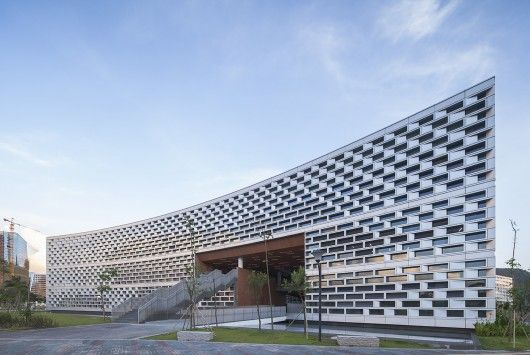 Library of South University of Science and Technology of China - Urbanus / ArchDaily | #academiclibrary