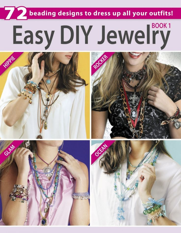 Best 25 diy jewelry books ideas on pinterest display ideas diy easy diy jewelry book 1 solutioingenieria Images