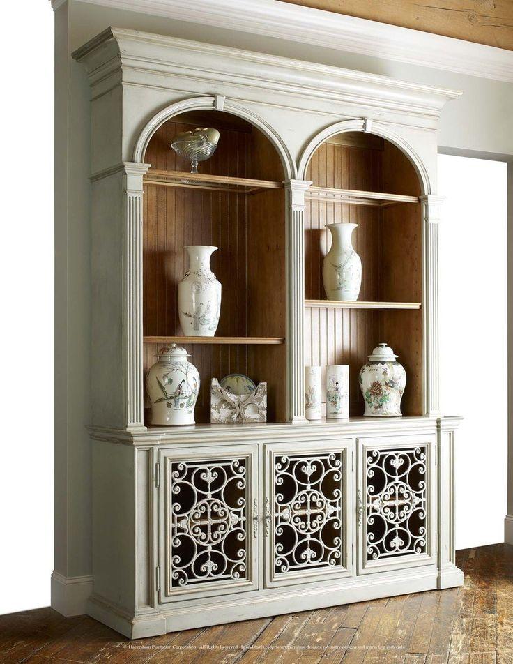 Habersham Biltmore Overlook Arch Bookcase | HA642395