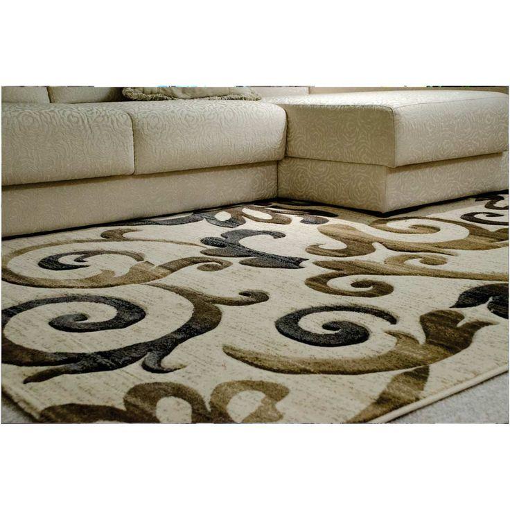 Tapete para Sala Cartagena Carving ´ Alto Relevo ´ 1,40x2,00 Retangular Turquia Arabesco - Niazitex - cod. 624701