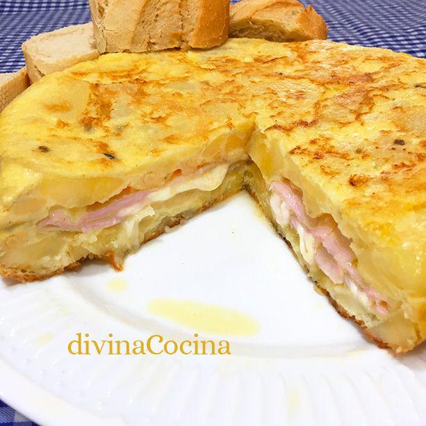 Esta tortilla de patatas, jamón y quesoencierra un relleno cremoso que te va a conquistar. La elaboración es sencilla pero hay que seguir estos consejos.