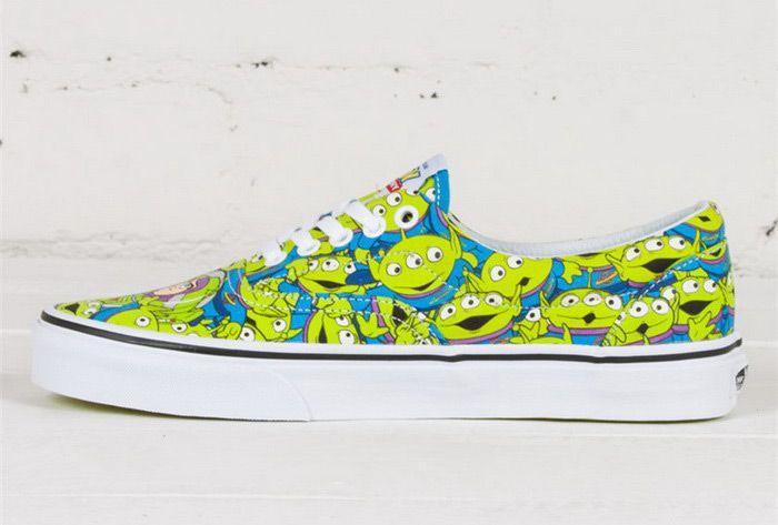 b22b1959492fe2 Disney x Vans Toy Story Alien Green Era Skate Shoes For Sale  Vans ...