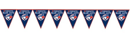 Toronto Blue Jays Party Supplies - pennant banner   - Party City Canada
