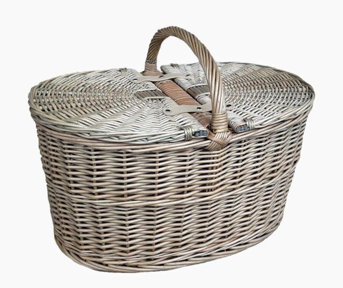 Red Hamper - Picnic Hamper Deep Antique Wash Oval Picnic Basket, £53.46 (http://www.redhamper.co.uk/picnic-hamper-deep-antique-wash-oval-picnic-basket/)