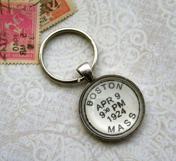 Personalized Keychain - Custom Key Chain - Kid's Names or Custom Location and Date - Men's Keychain