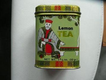 Klein blikje lemon thee