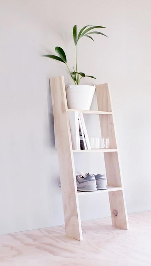 25 best ideas about leaning shelves on pinterest. Black Bedroom Furniture Sets. Home Design Ideas