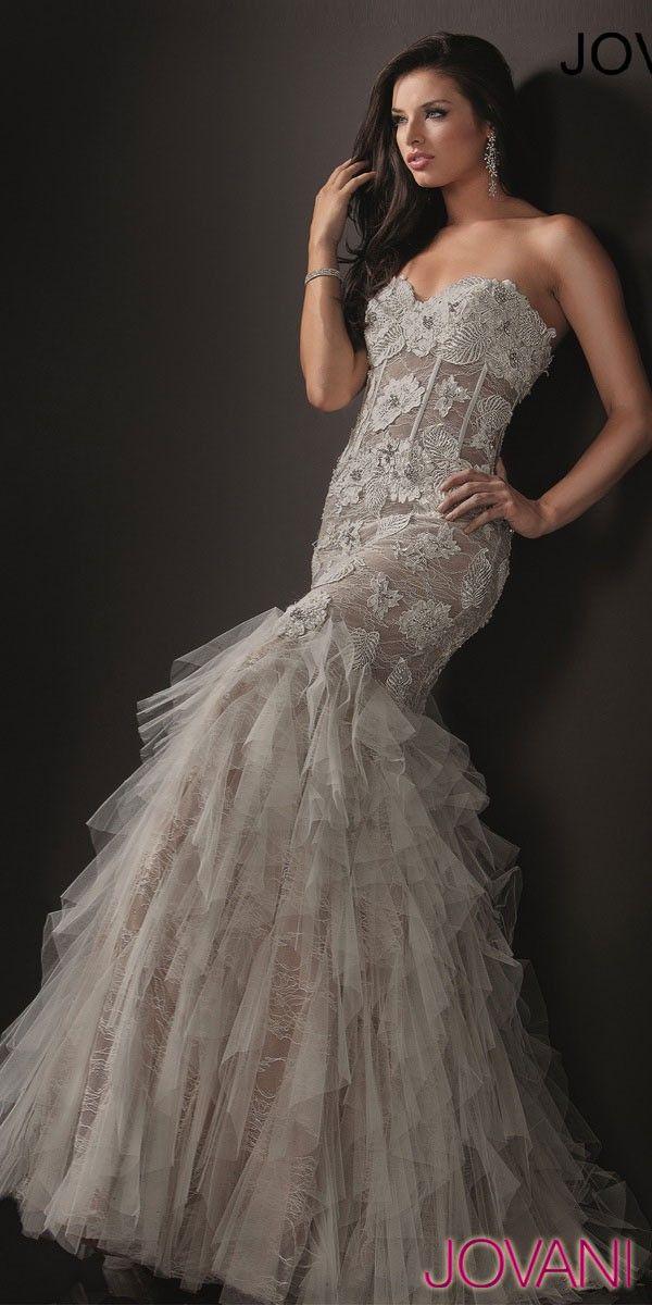 35 best images about jovani on pinterest formal dresses for Jovani mermaid wedding dresses