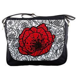Messenger Bag/Poppy