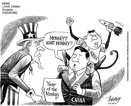 NK is like a bully for China. I cannot understand Why China continues to help the rogue nation.