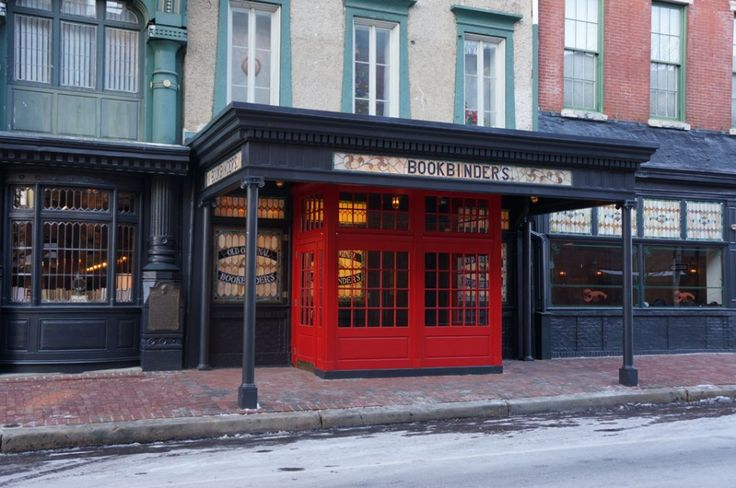 Jose Garces's Olde Bar Opens - Formerly Original Bookbinders 125 Walnut St., Philly