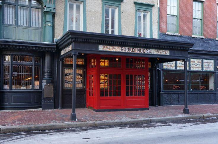 Jose Garces's Olde Bar Opens - Foobooz Formerly Original Bookbinders 125 Walnut St., Philly
