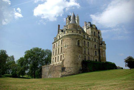 Castello di Brissac - Valle della Loira - Francia
