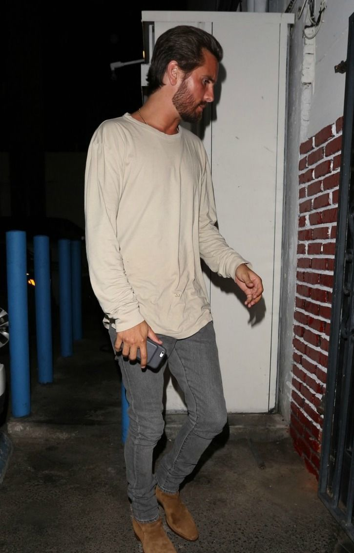 Scott Disick in LA