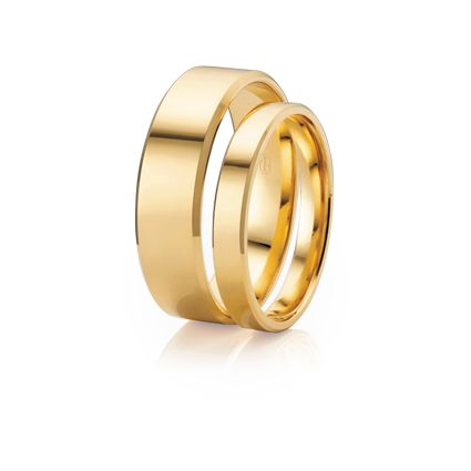 #AustralianMade #WeddingRings!  Flat Bevel - Available in many different metal options and lots of different widths.