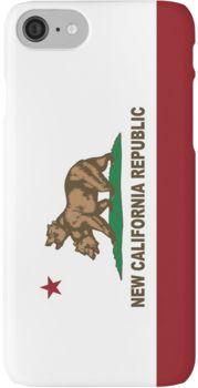 New California Republic Flag Original  iPhone 7 Cases