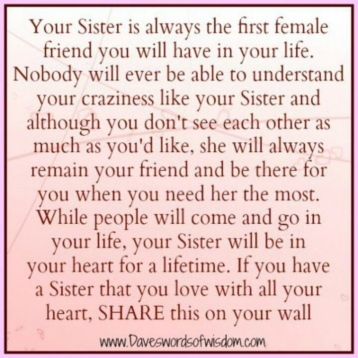 Sis Love My Com: Funny Sayings About Sisters