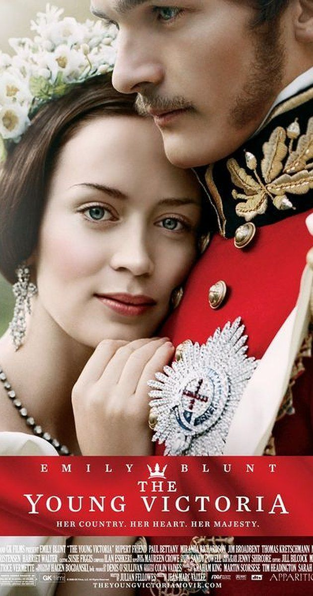 Directed by Jean-Marc Vallée.  With Emily Blunt, Rupert Friend, Paul Bettany, Miranda Richardson. A dramatization of the turbulent first years of Queen Victoria's rule, and her enduring romance with Prince Albert.