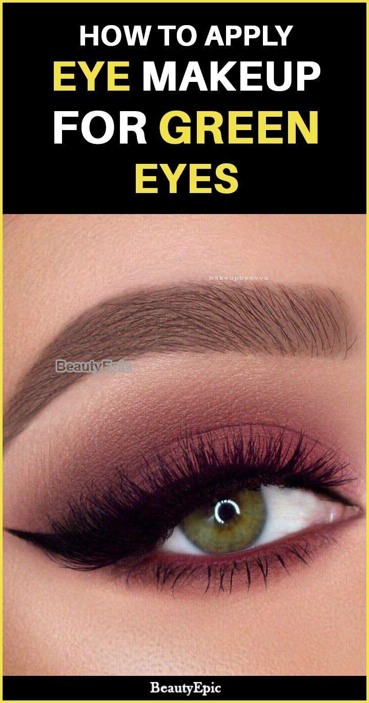 eye makeup for green eyes – tips and tricks   dramatic eye