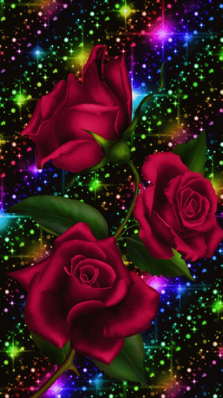 сияющие картинки роз небольших коридоров