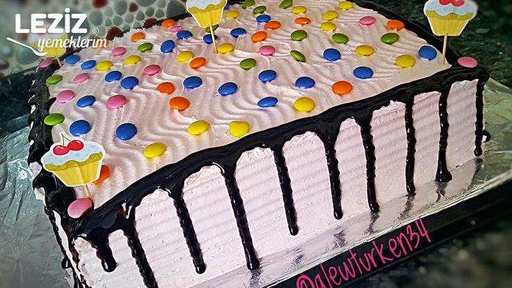 30 Kişilik Doğum Günü Pastası (Vişneli Çikolatalı)