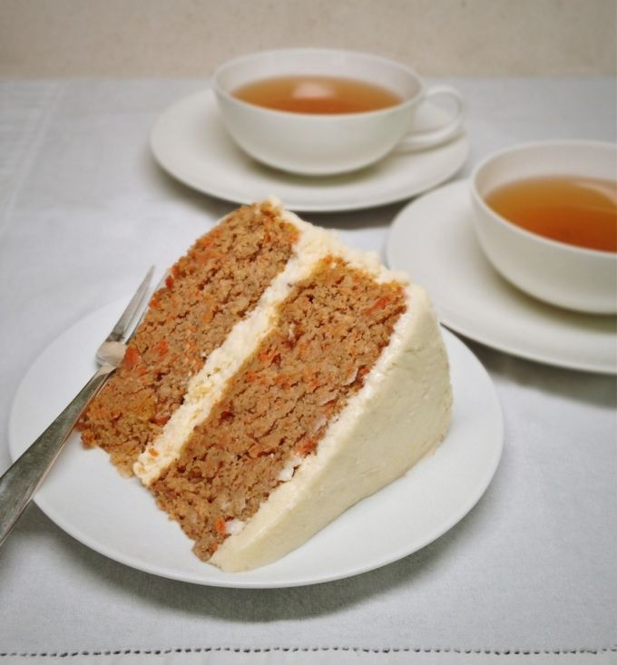 Best ever low carb Carrot Cake