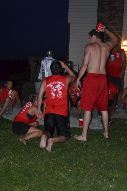 The funniest set of beer Olympics games I've ever seen.