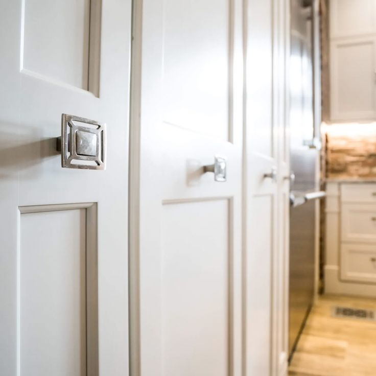 White Cabinets Will Never Go Out Of Style These Hand Crafted Cabinets Are Painted In Farrowandb Kitchen And Bath Decorative Hardware