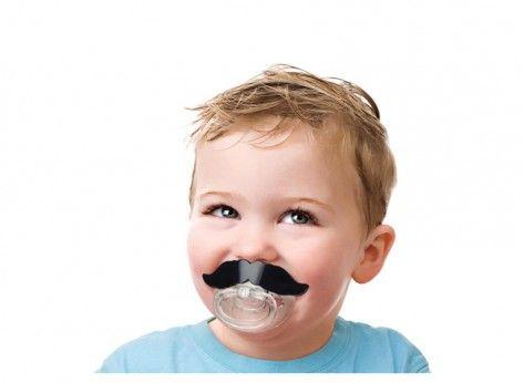 Suzeta cu mustata - Mindblower.ro Cadouri amuzante pentru copii fericiti