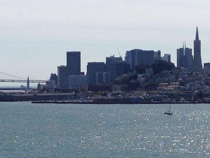 San Francisco view from Alcatraz.