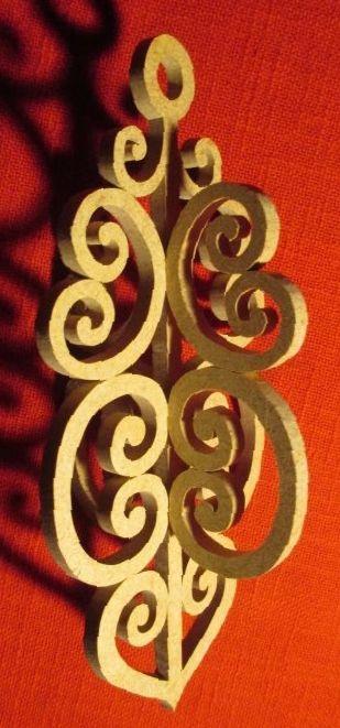 Décos de Portes et de Maison : Chantournage