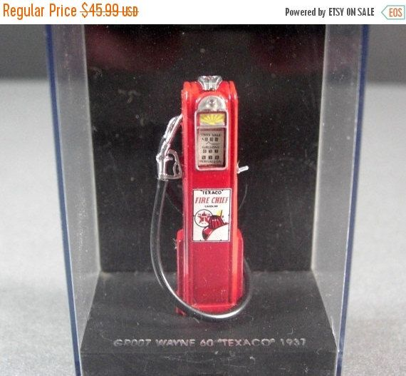 ON SALE NOW 1 43 scale Texaco gas Pump Wayne 60 circa 1937 style diorama supply by @Successionary