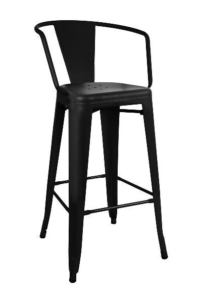Replica Tolix Bar Stool. Powder coated steel finish. Available in Raw metal, Matt black, Matt green, Matt red, Matt white, Rusty, Red and White. #BarStool #Chairs #Decor #Design