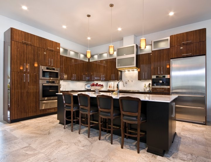 Kitchen design by Acadian House