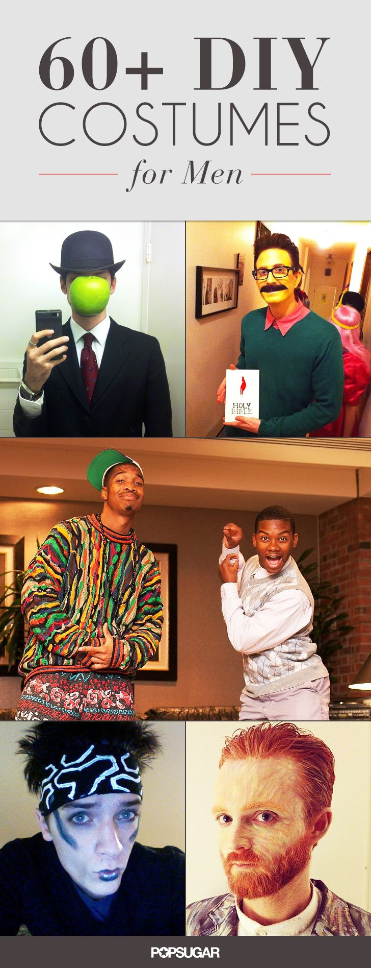 It's always a big dilemma trying to figure out what to be for Halloween. We made it easier for you this year by rounding up some of the best costumes we found for men on the web.