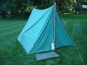 Vintage BSA Voyager Tent Official Boy Scouts of America Voyager . & Canvas used boy scout tent | Tents and Canvases