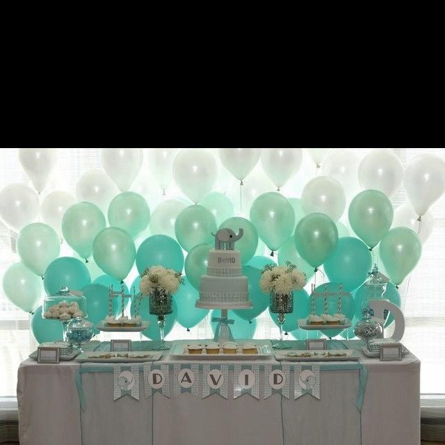 Ombre Balloon Backdrop Parties Amp Entertaining Dessert