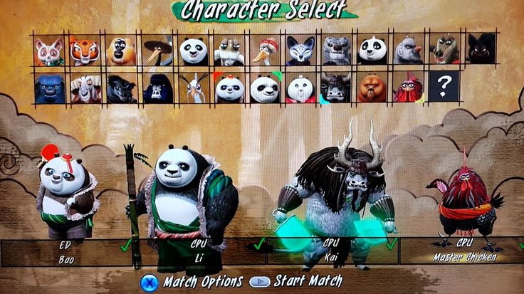 KUNG FU PANDA: SHOWDOWN OF LEGENDARY LEGENDS | Li, Kai, Master Chicken, ...