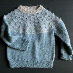 Bobble Yoke Sweater for Babies + Toddlers