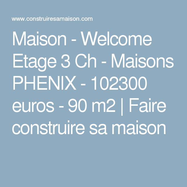 Best 25 Maison Phenix Ideas Only On Pinterest Infestation Inspection De La Maison And U S S