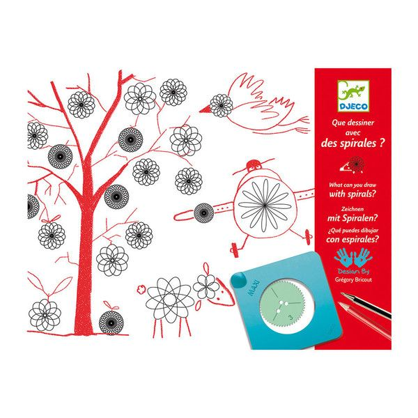 A fantastic version of a classic creative activity. This spirals set comes with a detailed booklet to inspire your creativity.  From people, vehicles and animal