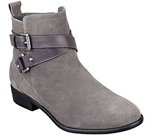 Dress these #silver ankle boots up or down with either jeans or leggings.