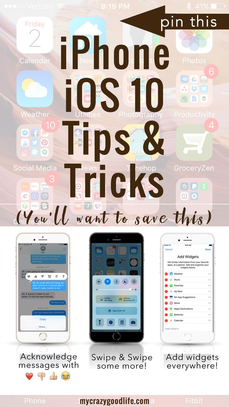 iOS 10 has revealed a TON of changes for your iPhone. They've basically overhauled the entire iPhone operating system, including some amazing upgrades to your messages. Check out these iOS 10 tips and tricks to get the most out of your iPhone update!