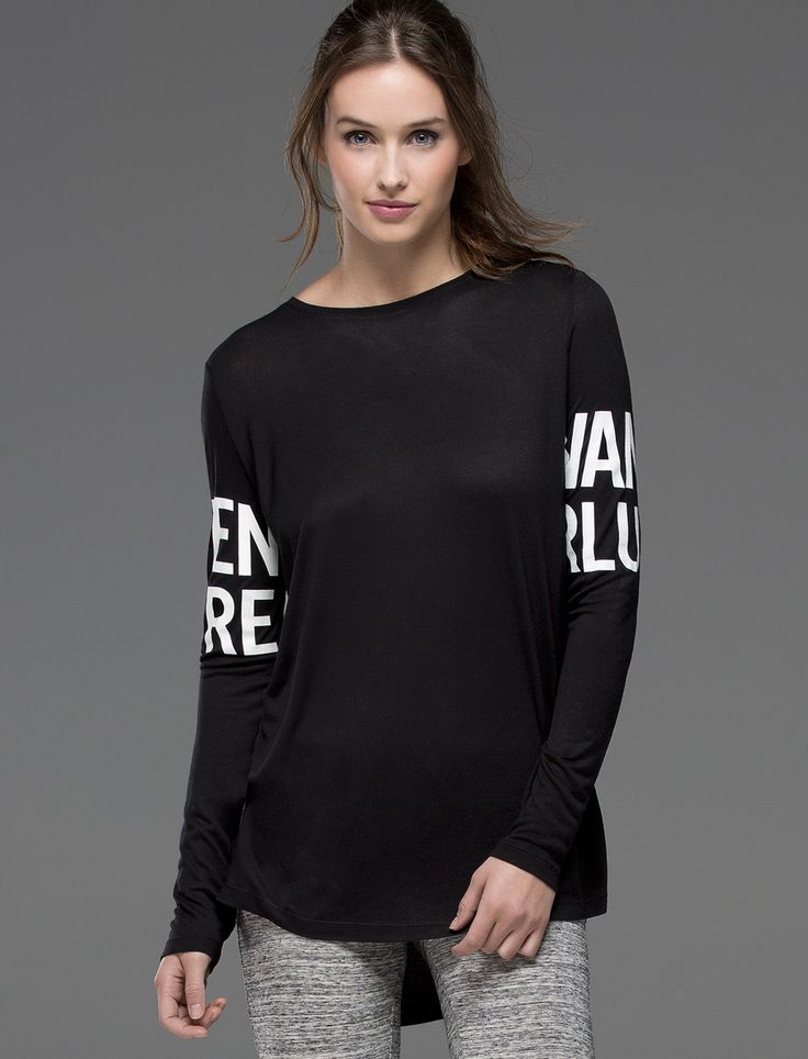 Homewear T-shirt with slogan in the sleeves @womensecret #CCElSaler