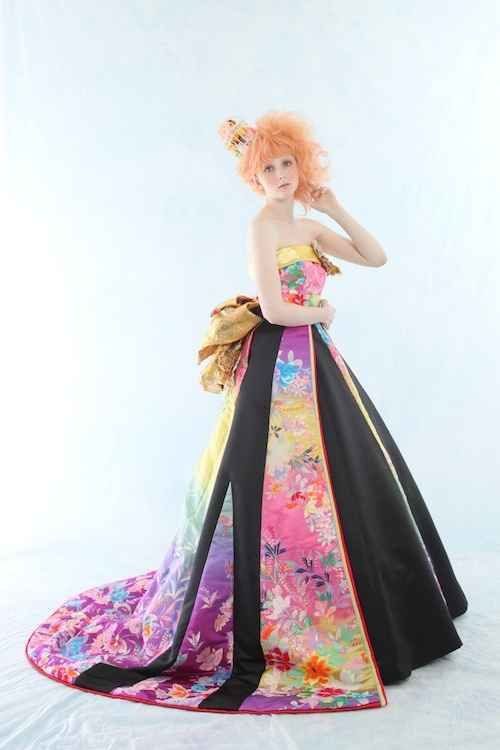 "Aliansa's Kimono Dress – ""Koryu"" Black"